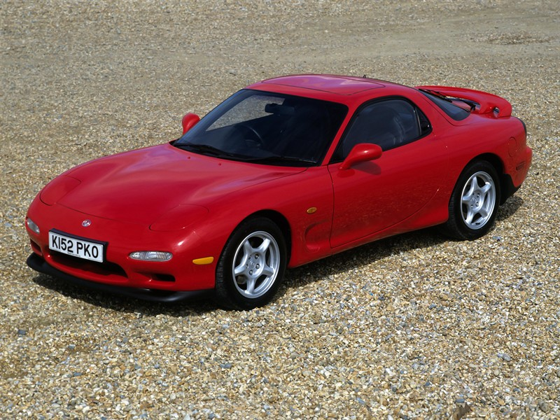 Mazda RX-7 UK-spec (FD) '1991–2002