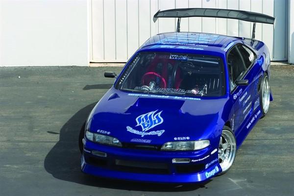 Тюнингованный Nissan