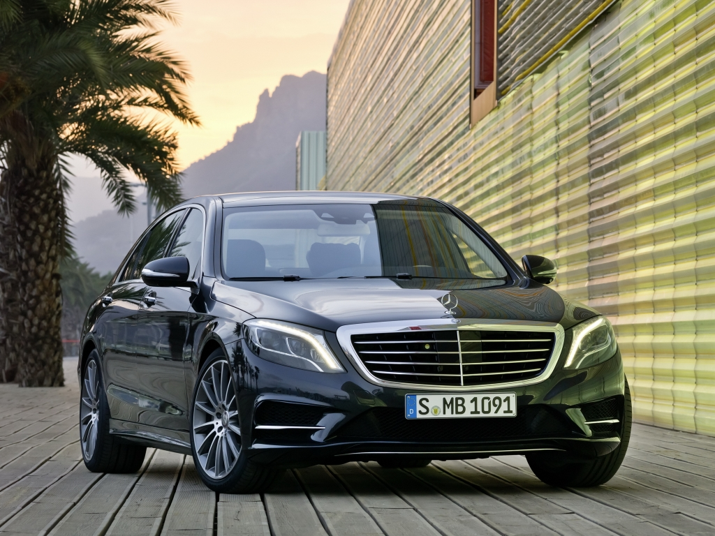 Mercedes-Benz S 350 BlueTec AMG Sports Package (W222) '2013