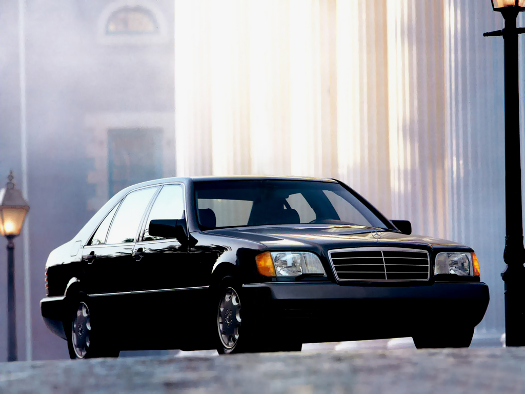 Mercedes-Benz 600 SEL US-spec (W140) '1991–92