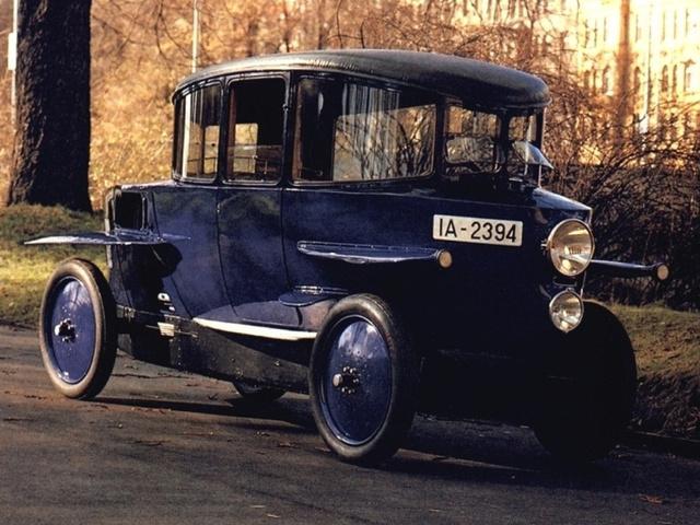 Rumpler Tropfenwagen - спортивный автомобиль 1921 года с коэффиционетом аэродинамического сопротивления Сх (0,28)
