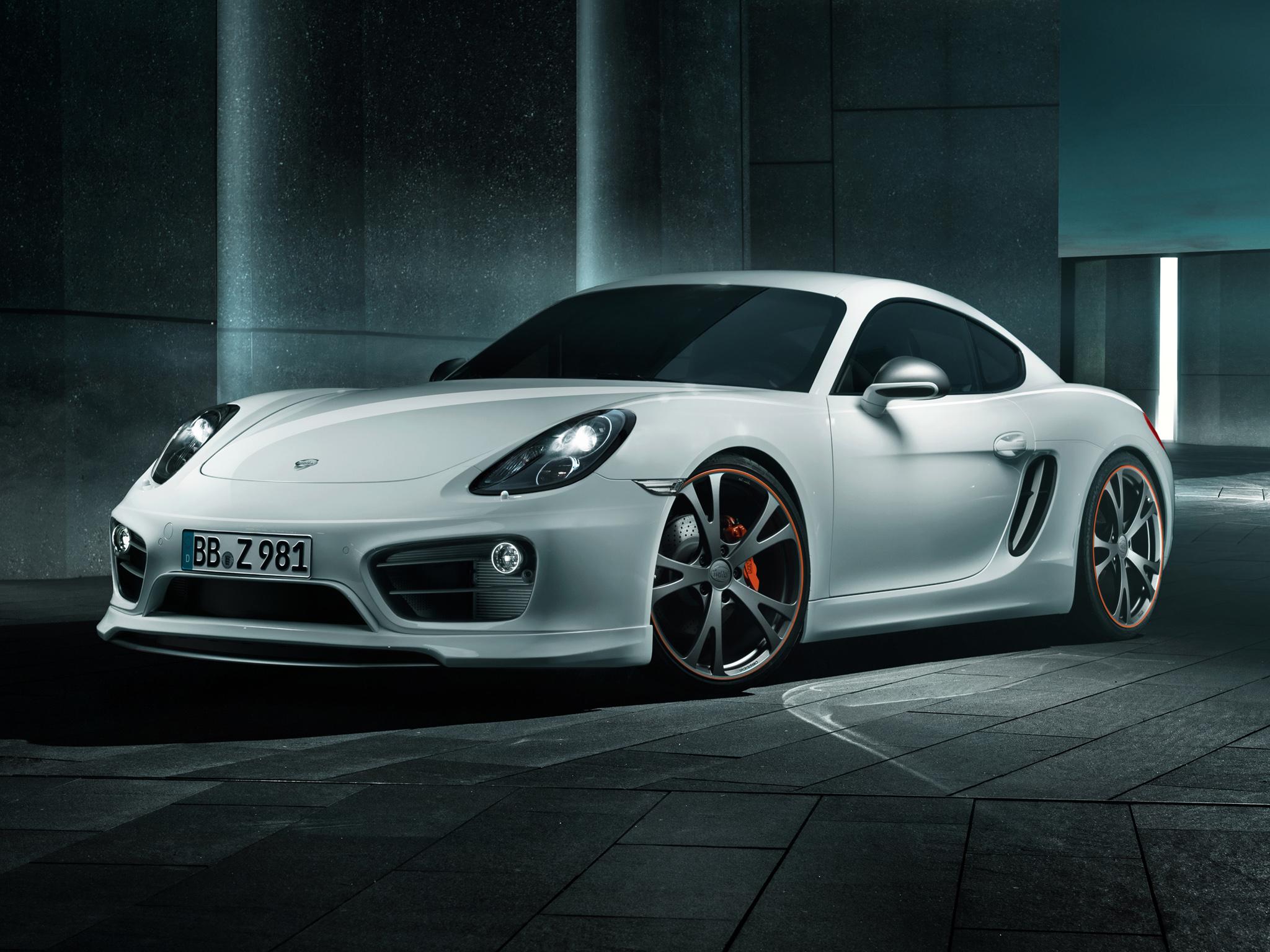 Porsche Cayman (981C) '2013 от тюнинг-ателье TechArt