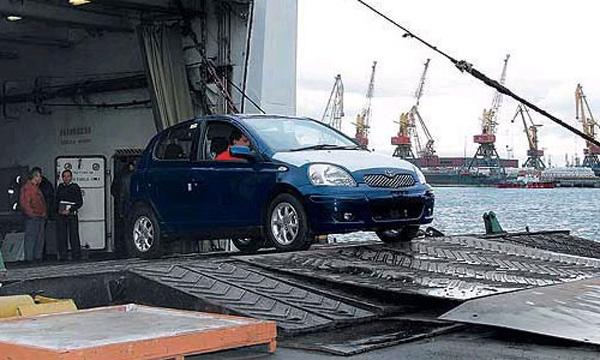 Toyota Yaris из Японии
