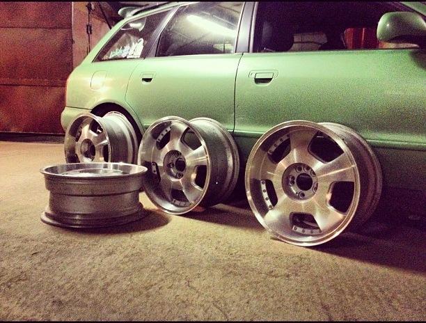 Колесные диски. Фото автора с Drive2.ru