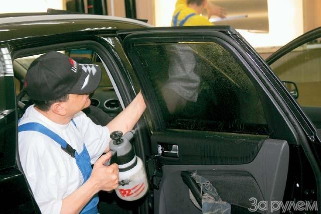 Фото тонировка стекол автомобиля своими руками