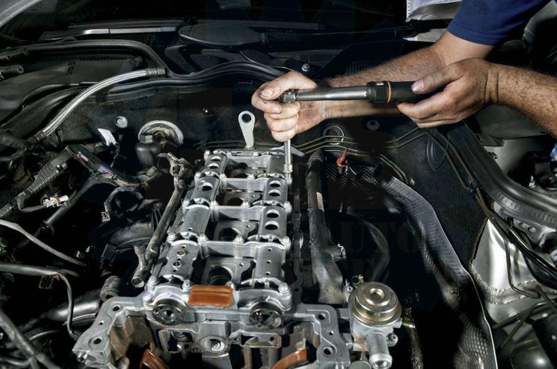Ремонт двигателя в сервисе кардан
