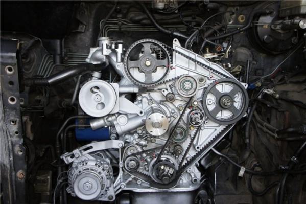 Ремень грм в дизельном двигателе 2.5 Hyundai Starex
