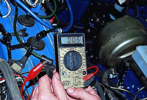 проверка катушек зажигания с помощью мультиметра