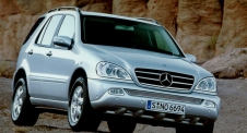 Mercedes-Benz ML (W163) 1997–2005