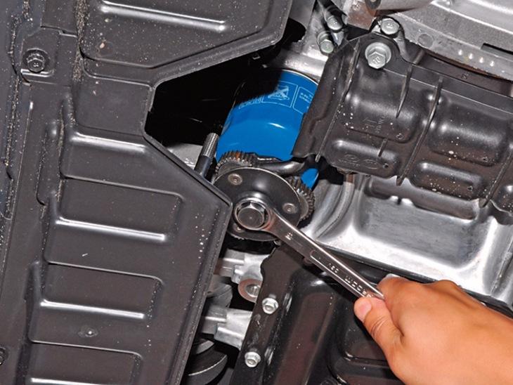 Замена масла в двигателе на хендай солярис своими руками
