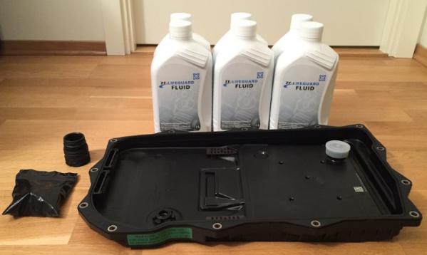 комплект для замены масла ZF 8HP45