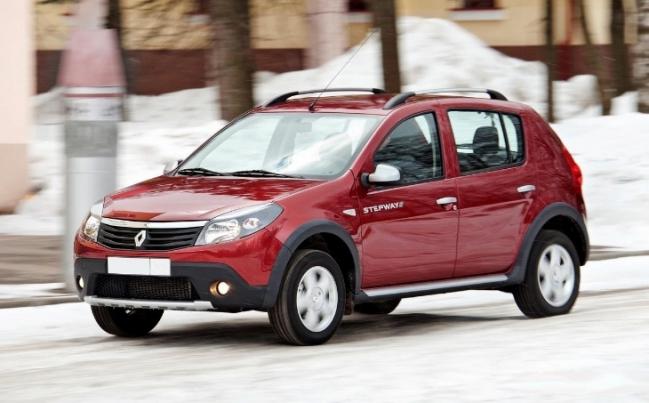 Renault Sandero Stepway 1-го поколения (2010-2014)