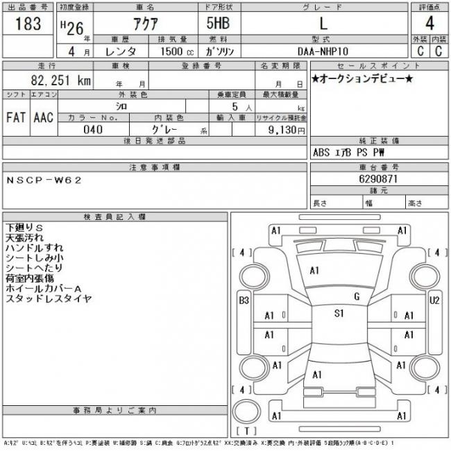 Как купить автомобиль на японском аукционе