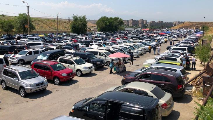 Авторынок в Ереване