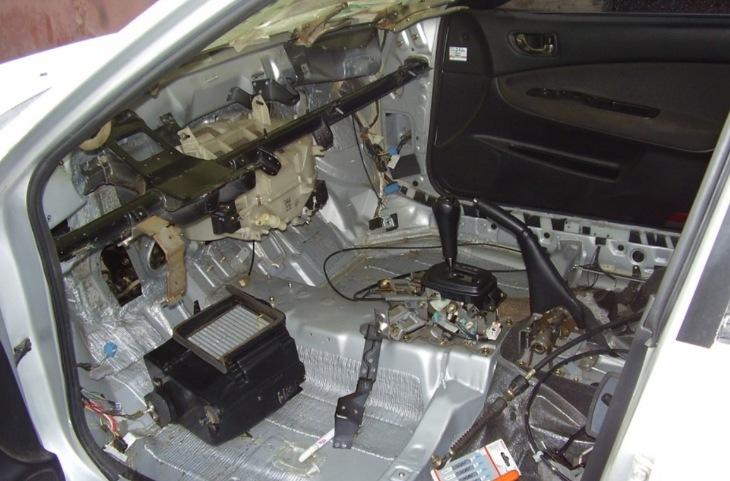 Переделка праворульного автомобиля под леворульный