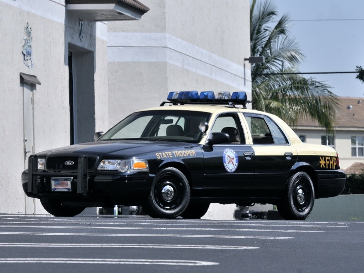 Ford Crown Victoria P71 Police Interceptor 2001–11