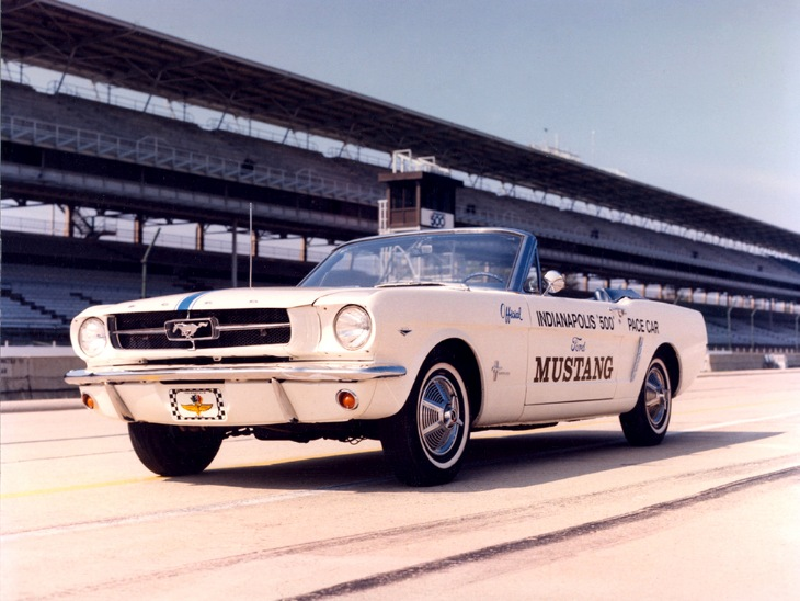 1964 Ford Mustang-Convertible Indy 500 Pace Car