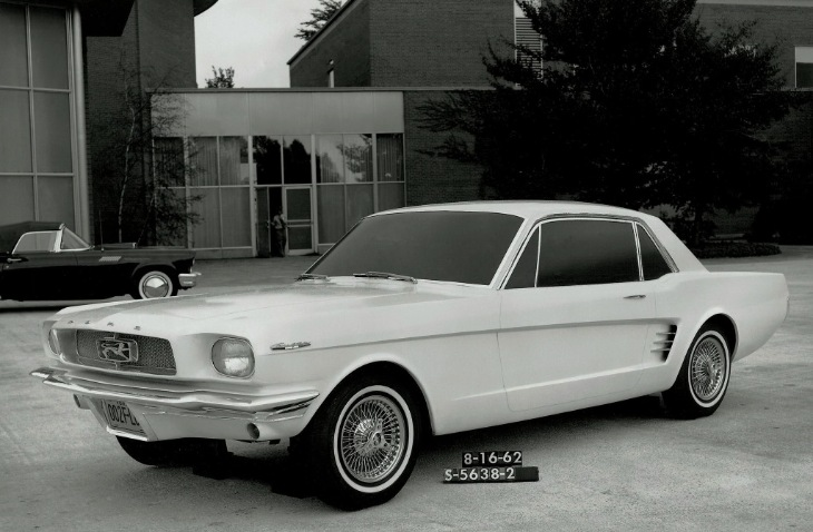 Макет Ford Mustang 1962