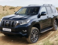 Toyota Land Cruiser Prado, рестайлинг 2017 года