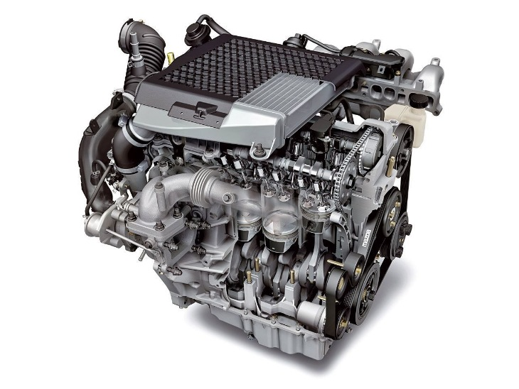 Двигатель 2.3 L3-VDT Turbo