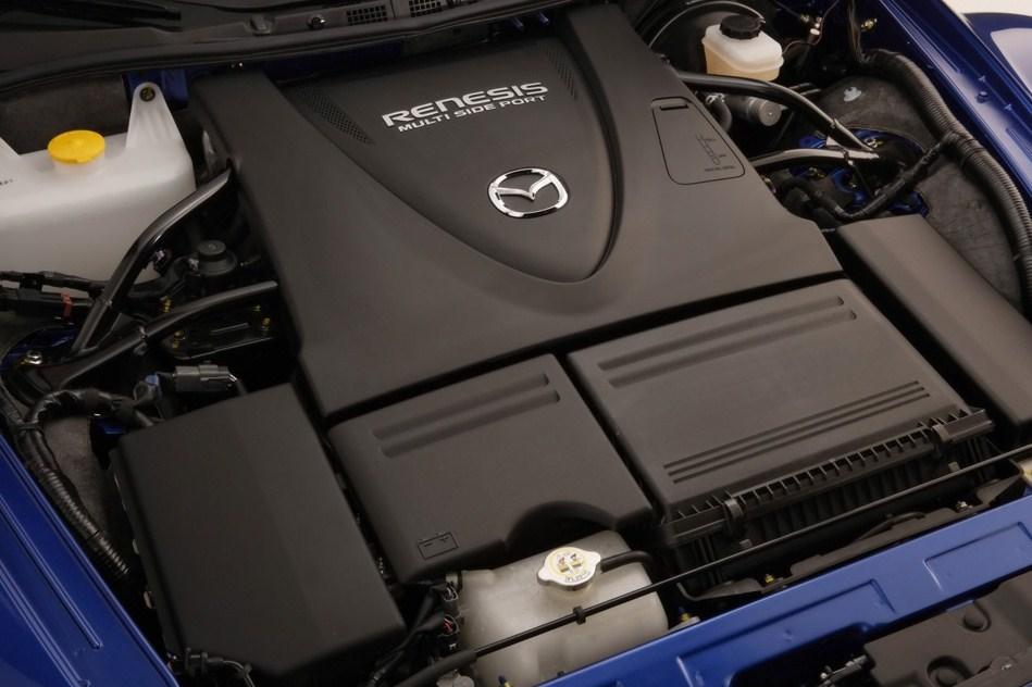 Под капотом Mazda RX-8