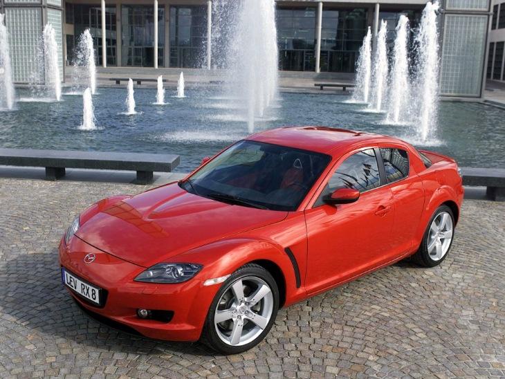 Mazda RX-8 2003-2008, дорестайлинг