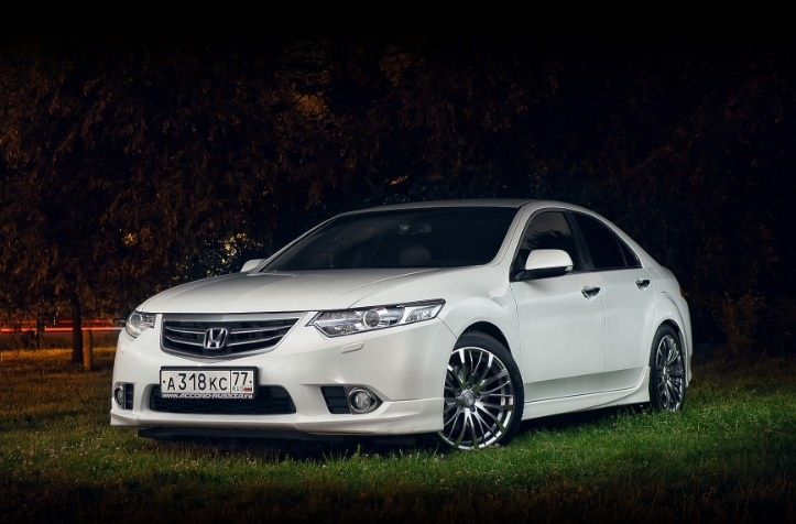 Honda Accord VIII, рестайлинг 2011 года.