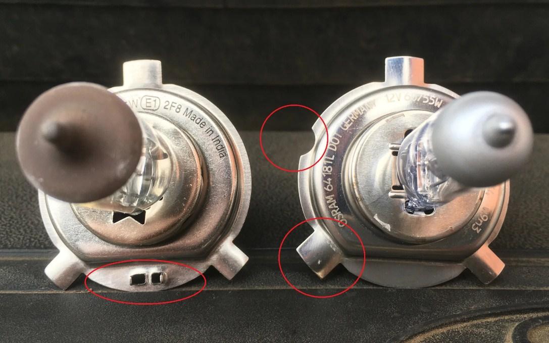 H4 и H19 - разница между лампочками