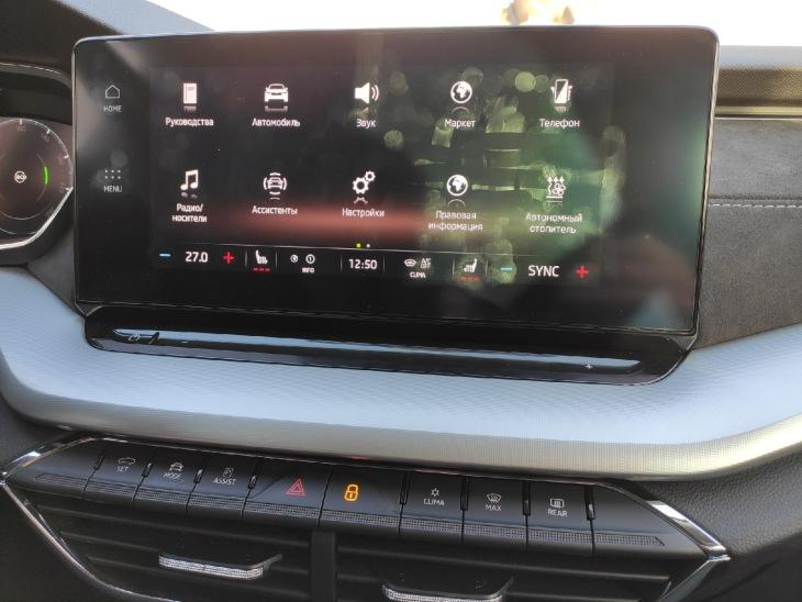 Сенсорный экран мультимедийной системы