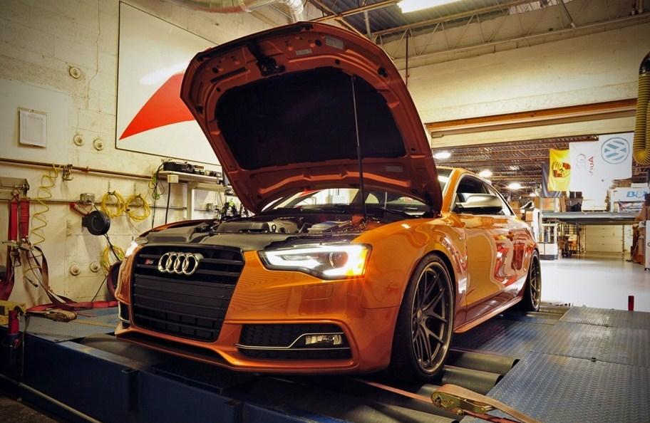 На фото Audi S5 Stage 2