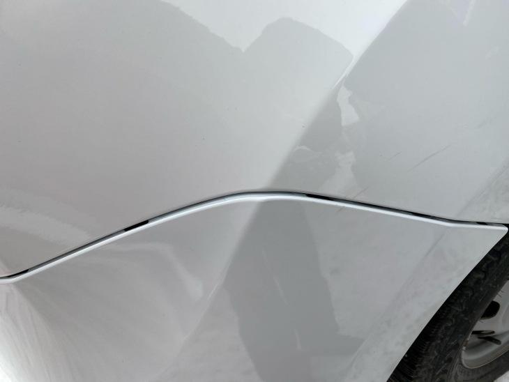 Зазоры между задним бампером и крылом Renault Duster