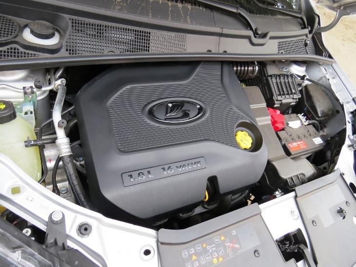 Двигатель 1.8 122 л.с. и 170 Hm.