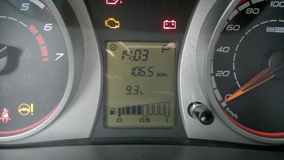 Фото №16 - ВАЗ 2110 расход топлива на 100 км
