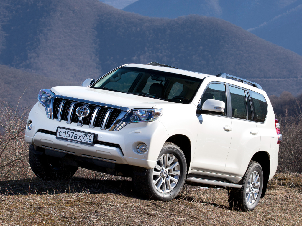 Toyota Land Cruiser Prado CIS-spec (150) \'2013