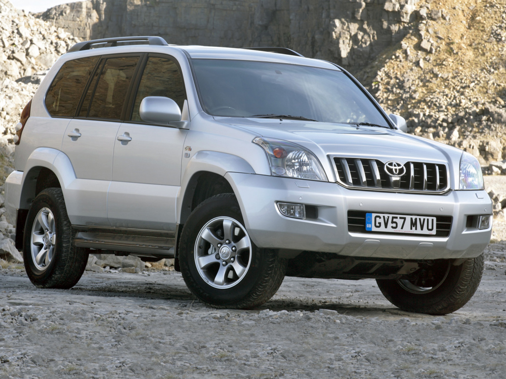 Toyota Land Cruiser Prado Invincible 5-door (J120W) \'2007