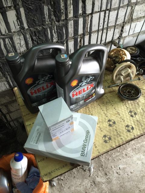 BMW e36 какое масло в двигатель