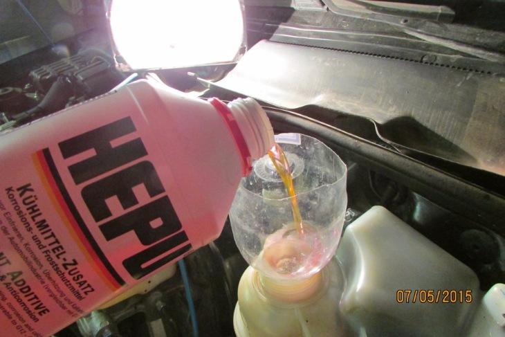 Замена охлаждающей жидкости дэу нексия