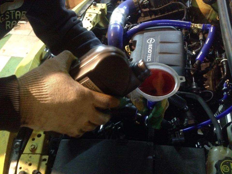 Сколько масла нужно заливать в двигатель опель астра h 1.6